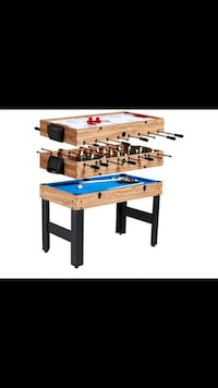 brown and blue foosball table screenshot El Paso, 79915