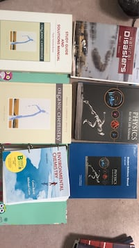 three assorted books and two books Toronto, M1V 5A1