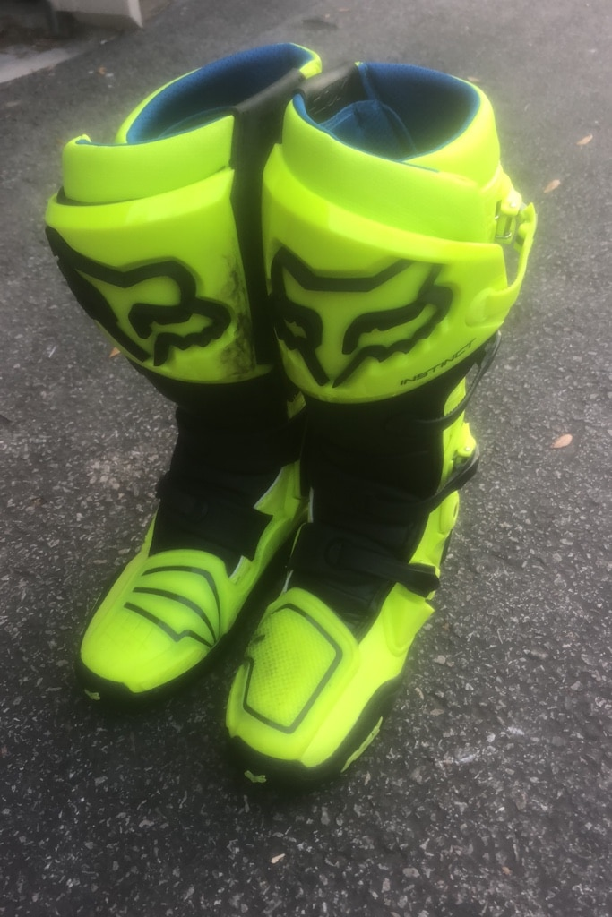 Photo Fox racing instinct motocross boots