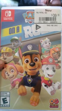 Paw patrol for switch  Toronto, M6S 4E1