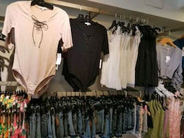Fashion clothing store and spa