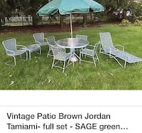 Brown Jordan Tamiami patio furniture.  Gaithersburg, 20878