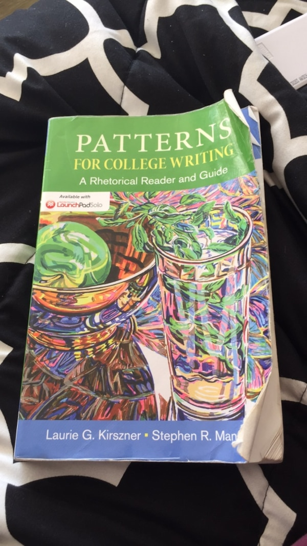 Patterns For College Writing 40th Edition Usagé à Vendre à Oakland Extraordinary Patterns For College Writing 13th Edition