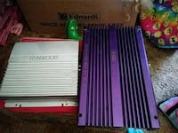 Grey amplifierand purple car amplifier Kalamazoo, 49048