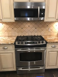 "GE Profile stovetop and oven 30"" slide-in"