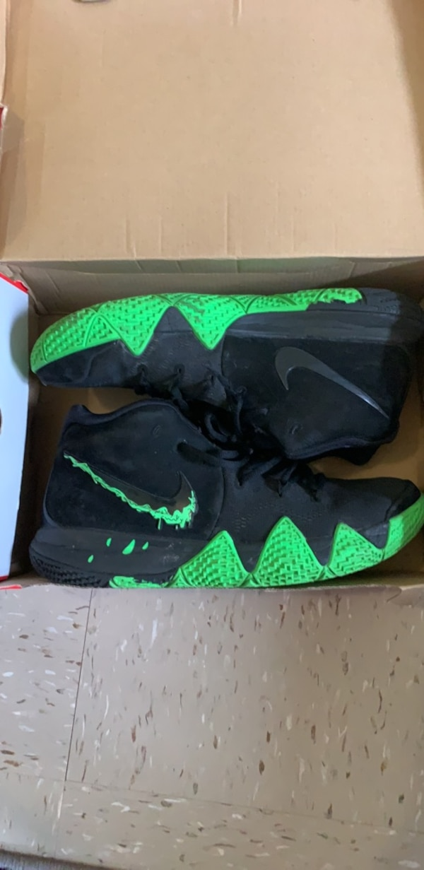 reputable site 0e2bf c7843 Kyrie 4 Halloween edition (green and black)
