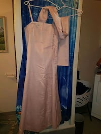 Pink grad dress with matching wrap  Medicine Hat, T1A 3R7