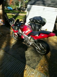 red and black sports bike Dighton, 02715