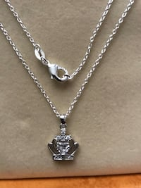 Sterling Silver Brand new Necklace with stamp of S925 to pendant and Chain Calgary, T3P 0C4
