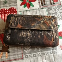 "Camouflage ""Deer Hunter"" wallet Fuquay Varina, 27526"