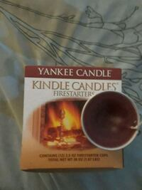 Yankee candle fire starters