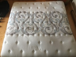 King size posturepedic mattress with or without box spring