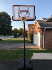 black and white basketball hoop BURLINGTON