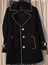 Black and white button up jacket Lynn, 01905