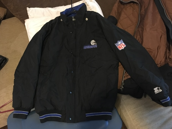 best authentic 9b413 b88f9 *REDUCED* *CLASSIC* NFL DALLAS COWBOYS STARTER JACKET MINT CONDITION SZ L  Check out my other listings