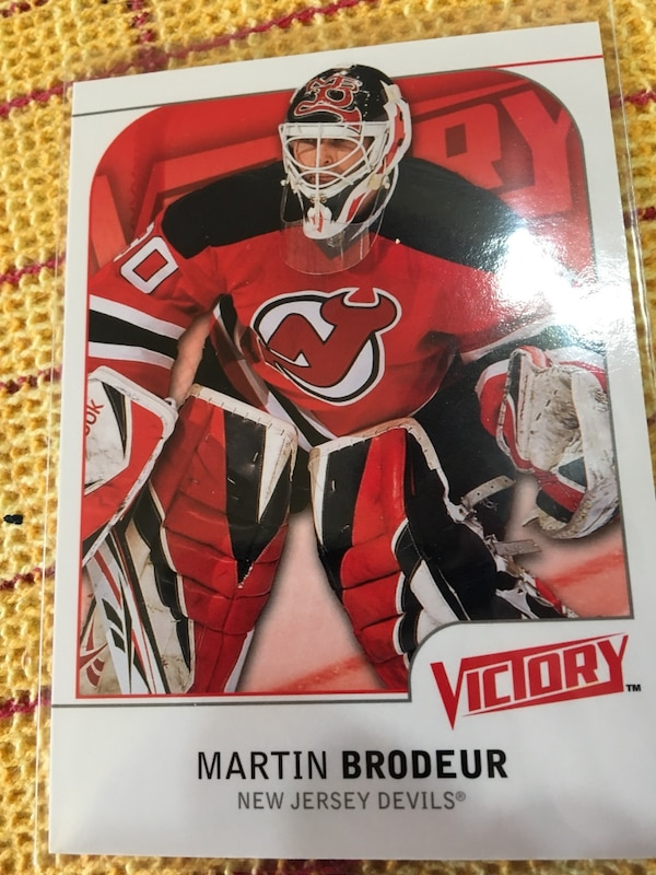 80b57c1bb Used Martin Brodeur hockey trading card for sale in Vaudreuil-Dorion - letgo