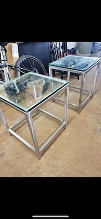 Glass end tables  Gaithersburg, 20877