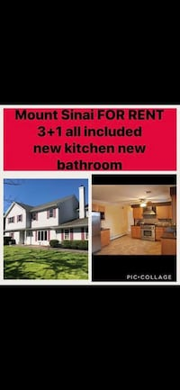 APT For rent 3BR 1BA Mount Sinai