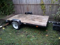 trailer 4 x 10 only used one time like new Lincoln Park, 48146