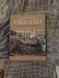 A history of England Volume 1 textbook Nokesville, 20181