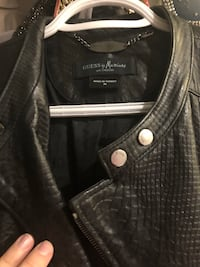 Guess by Marciano leather Jaket , classy great condition but it for 800   Richmond Hill, L4S 2G4