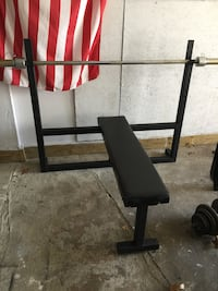 Weight bench and bar Dracut, 01826
