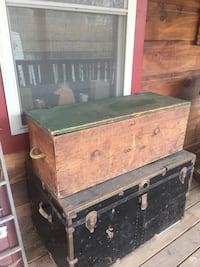 Old handmade wooden box Hedgesville, 25427