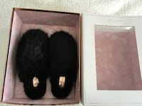 Ted Baker Fuzzy Slippers Size 7US  539 km