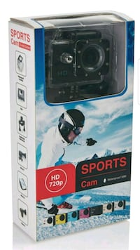 BRAND NEW WATERPROOF ACTION CAMERA Toronto, M6E 2V1