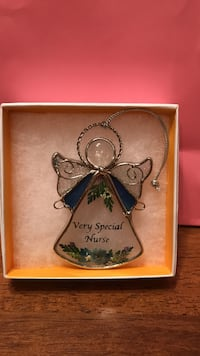Beautiful stain glass angel ornament for special nurse Gainesville, 20155
