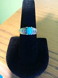 Turquoise and Sterling silver 7.75