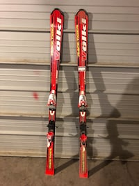 Volkl Race Tiger skis with bindings 3131 km