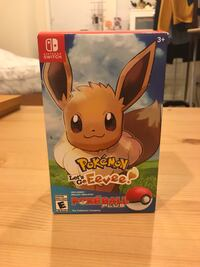 NEW Pokemon: Let's Go Eevee + Poke Ball Plus Pack Ashburn, 20148