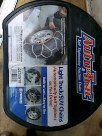 2 sets of Light Truck or SUV Tire Chains