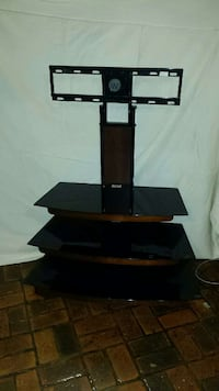 black TV stand with mount Bay Minette, 36507