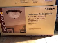 X2 Flushmount Ceiling Fixtures [NEVER USED - STILL IN BOX] Whitby, L1R