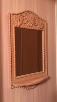 rectangular wall mirror with white wooden frame Markham, L3P 6G6