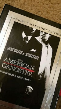 Denzel Wahington American gangster movie dvd Essex, 21221