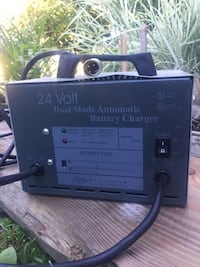 24v battery charger with Duel Mode charging feature