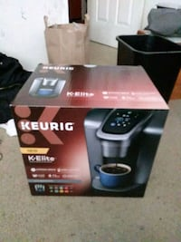 black and gray Keurig coffeemaker box San Francisco, 94116