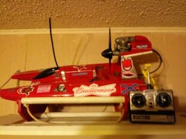 Gas rc 2ft tunnel hull boat