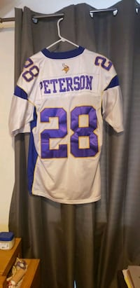 Official #28 Peterson Jersey. Saint Paul