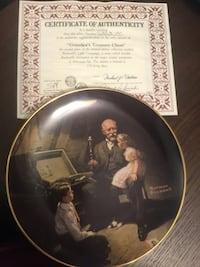 Bradford Exchange Collectors Plate  New Westminster, V3M 3N1