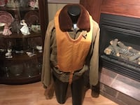WW2 US Airforce Crewmen Jacket and a Mae West Life Jacket  Lakeshore, N0R