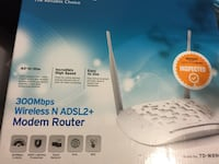 Wireless n adsl2+ modem router box