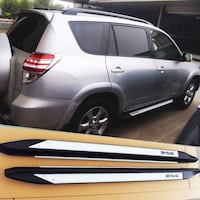 06-12 Toyota RAV4 Aluminum Running Boards Side Steps OE Style La Puente