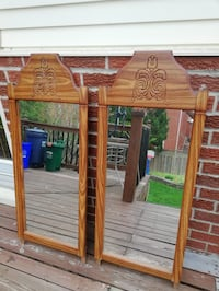 Beautiful wood frame mirrors  Burlington, L7P 3T9