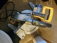 gray and yellow DeWALT miter saw Brentwood, 20722