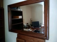 Pine Beveled mantel or fireplace mirror perfect to decorate for the ho Falls Church, 22041