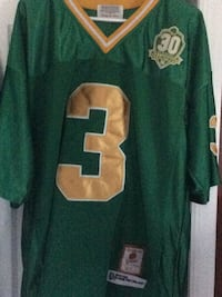Joe Montana Notre Dame 1977 throwback jerseynew condition 267 mi